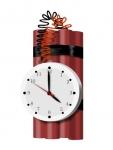ID-100216717 ticking bomb